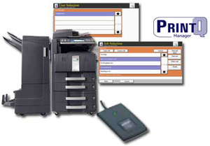 PrintQ Manager Secure Print Release (HyPAS enabled)